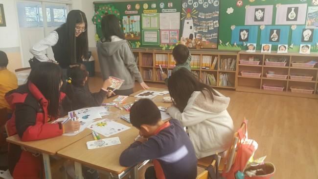 충렬여고 CSI, '남포초등학교 방문' 환경 교육 펼쳐1.jpg