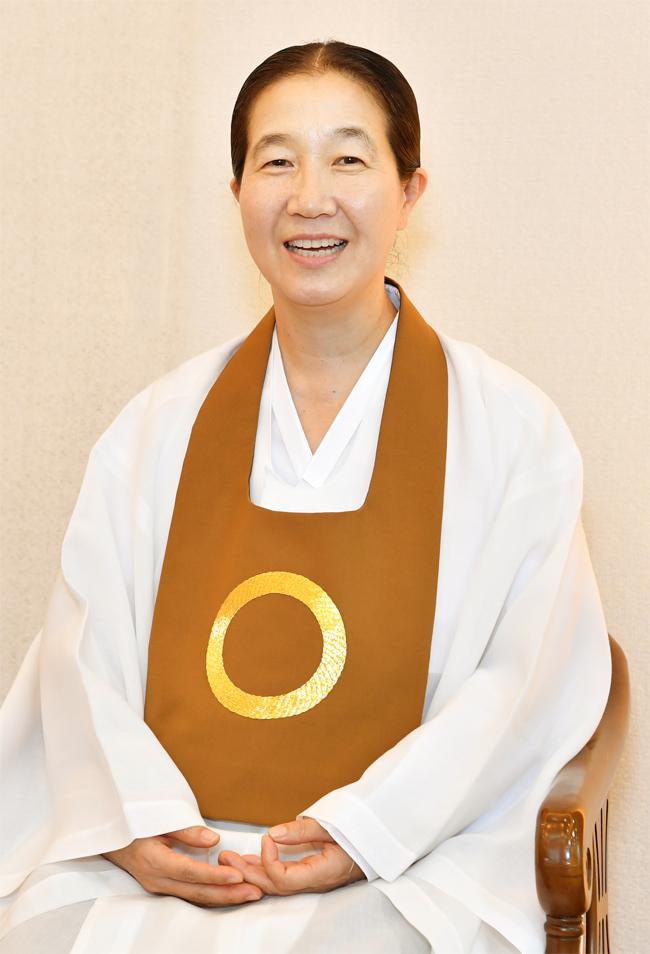 이경열 원불교 경남교구장./전강용 기자/
