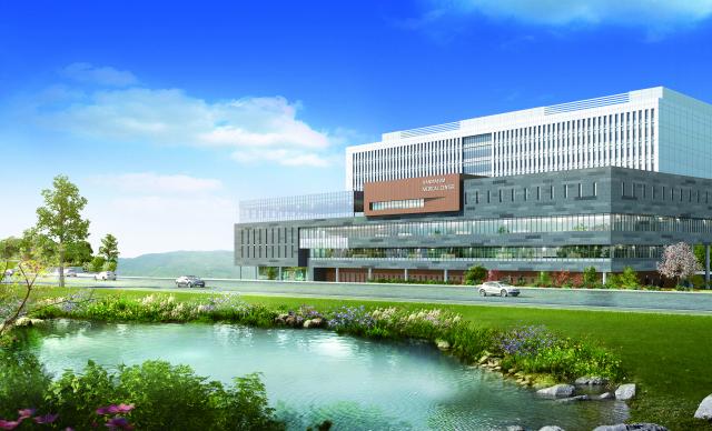 3월 개원을 앞둔 창원한마음병원 조감도.
