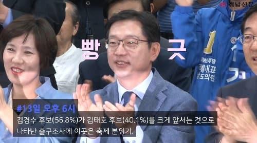 영상뉴스]김경수 경남도지사가 당선되던 그날 이야기