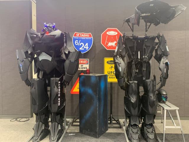 가족체험 스테이지 '로봇로드쇼'