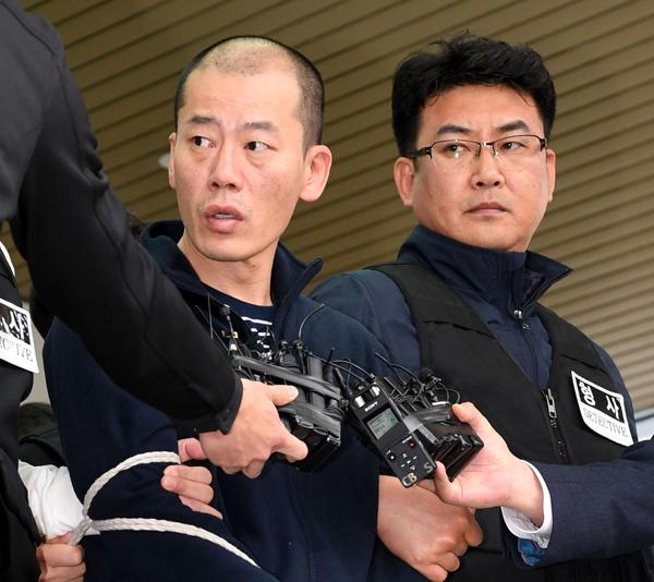 진주 아파트 방화살인 사건 피의자 안인득 얼굴공개