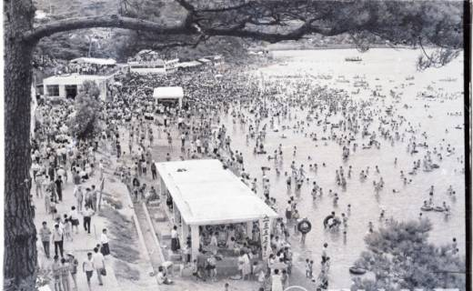 [옛사진 추억여행] 가포 해수욕장의 추억