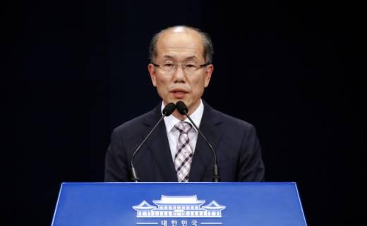 """靑, 지소미아 종료 """"국익 부합 안한다"""""""