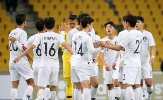 벤투호, 약체 홍콩에 2-0 '진땀승'