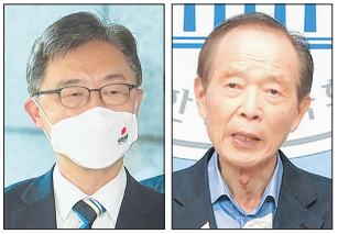 국민의힘 대선주자 최재형·장기표 예비후보 등록